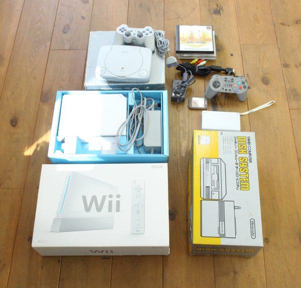 Wiiやプレステも買取査定やってます!
