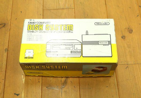 最近とても多い任天堂のファミコン ディスクシステム箱付を買取しました!