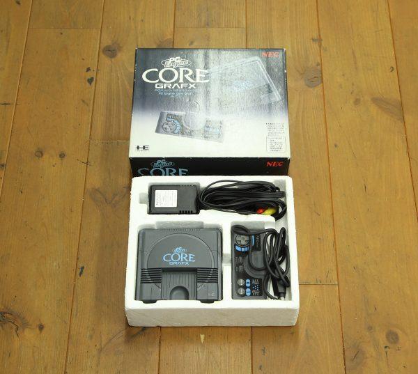 NEC PCエンジン コアグラフィックス 箱付を買取査定しました!