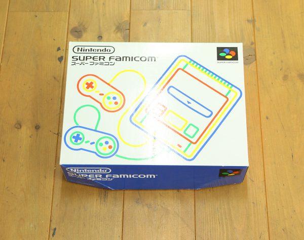 レトロゲームの代表 スーパーファミコン 箱付を買取査定しました!