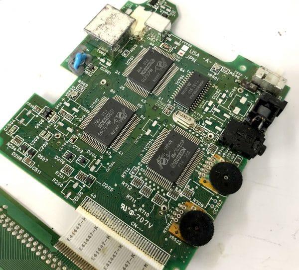 【2021年3月】レトロゲーム NEC PCエンジン GT メンテナンス 修理 コンデンサ フル交換編